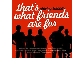 Shirley Bassey - That's What Friends Are For - (CD)