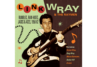 Link Wray, The Raymen - Rumbles, Raw-Hides, Jacks & Aces - (CD)