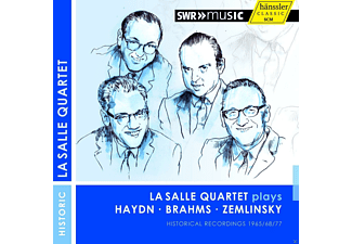 Lasalle Quartet - Lasalle Quartet Plays Haydn / Brahms / Zemlinsky [CD]