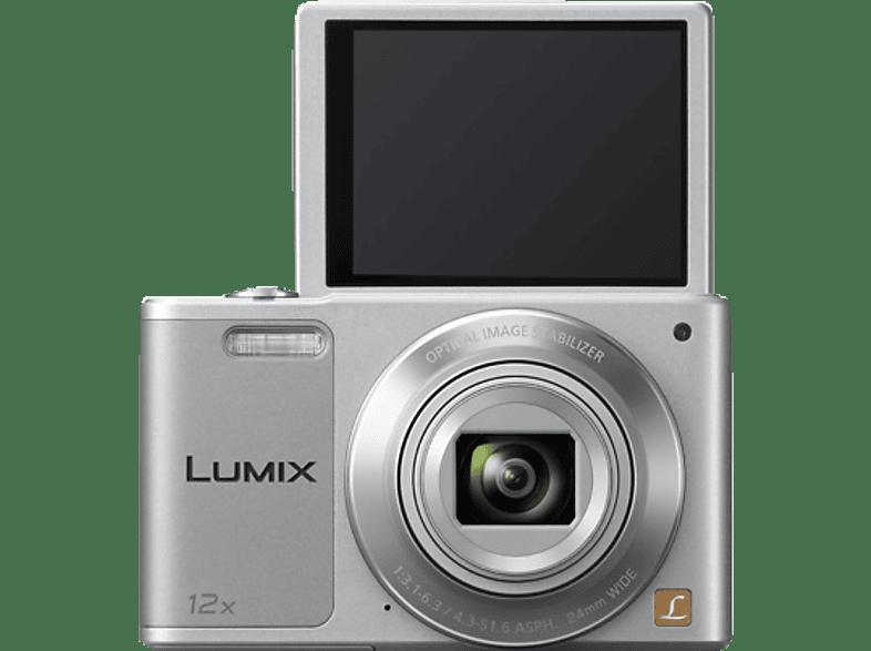 PANASONIC Lumix DMC-SZ10EG-K Digitalkamera, 16 Megapixel, 12x opt. Zoom, Silber