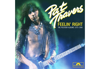 Pat Travers - Feelin' Right (4cd Box) [CD]
