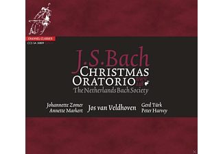 The Netherlands Bach Society, VARIOUS - Christmas Oratorio BWV 248 - (SACD Hybrid)