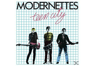 The Modernettes - Teen City - (Vinyl)