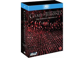 Game of Thrones S1-4 Box Äventyr Blu-ray