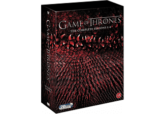 Game of Thrones S1-4 Box DVD