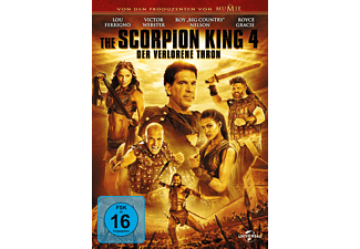 The Scorpion King 4 - Der verlorene Thron - (DVD)