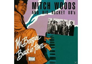 His Rocket 88 S - Mr.Boogie's Back In Town - (CD)
