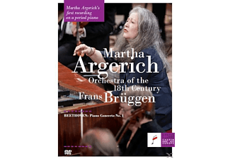 Martha Argerich, Orchestra Of The 18th Century - Beethoven Klavierkonzert 1 - (DVD-Audio Album)