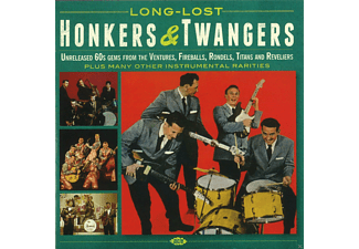 VARIOUS - Long-Lost Honkers & Twangers - (CD)