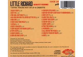 Little Richard - His Greatest Recordings [CD]