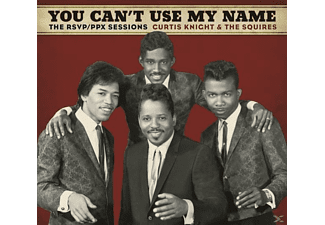 Curtis Knight, The Squires, Jimi Hendrix - You Can't Use My Name - (CD)