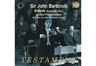 Barbirolli & Berliner Philharmoniker - Brahms: Symphony No.2 - (CD)
