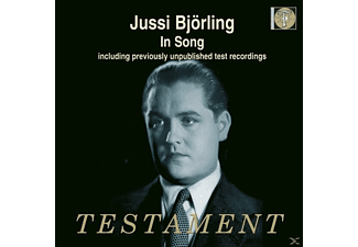 Jussi Björling - Jussi Björling in Song - (CD)