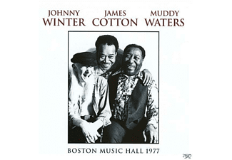 Johnny Winter, James Cotton, Muddy Waters - Boston Music Hall 1977 - (CD)