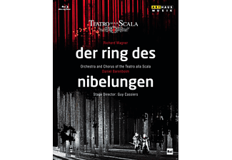 Orchestra And Chorus Of The Teatro Alla Scala - Ring Der Nibelungen (Bd) - (DVD)