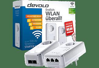 devolo dlan 500 av wireless starter kit mediamarkt. Black Bedroom Furniture Sets. Home Design Ideas