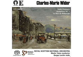 Sergey Levitin, Royal Scottish National Orchestra - Charles-Marie Widor Vol.3 - (SACD Hybrid)