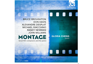 Gloria Cheng - Montage - Great Film Composers and the piano - (CD)