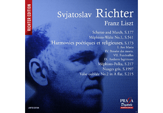 Sviatoslav Richter - Liszt: Oeuvres Pour Piano [SACD Hybrid]