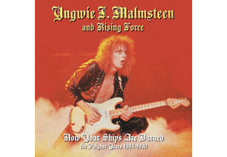 Yngwie Malmsteen - Now Your Ships Are Burned - (CD)