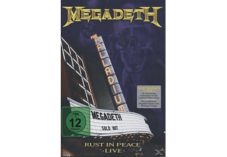 Megadeth - Rust In Peace Live (Amaray) - (DVD + CD)