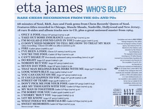 James Etta - Who's Blue? Rare Chess Recordings Of The 60s And 70s - (CD)