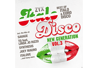 VARIOUS - Zyx Italo Disco New Generation Vol.3 [CD]