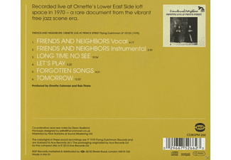 Ornette Coleman - Friends And Neighbors-Ornette Live At Prince Street [CD]