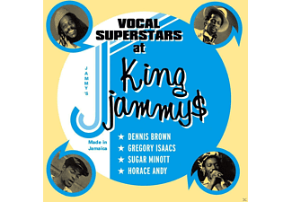 Dennis Brown, Gregory Isaacs, Sugar Minott, Horace Andy - Vocal Superstars At King Jammys - (CD)
