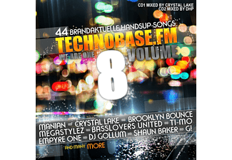 Mixed By Dhp - Technobase.Fm Vol.8 - (CD)