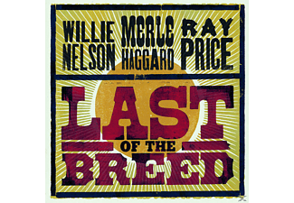 VARIOUS, Willie Nelson, Merle Haggard, Ray Price - Last Of The Breed - (CD)