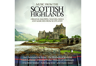 VARIOUS - Music From The Scottish Highlands - (CD)