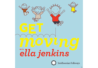 Ella Jenkins - Get Moving With Ella Jenkins - (CD)