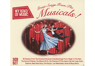 VARIOUS - My Kind Of Music: Great Songs From The Musicals - (CD)