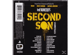Marc Canham, Nathan Johnson - Infamous: Second Son (Ost) [CD]