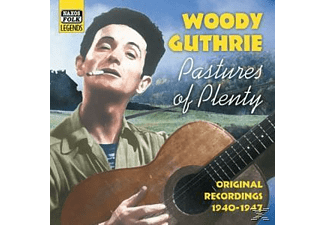 Woody Guthrie - Pastures Of Plenty - (CD)