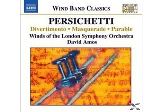 Winds Of The London Symphony Orchestra, Amos/Bläser Des LSO - Divertimento/Masquerade/Parabl - (CD)