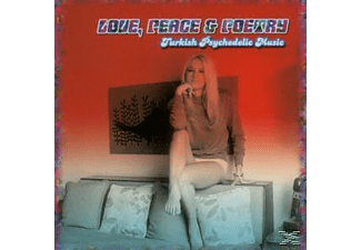 VARIOUS - Love, Peace & Poetry-Turkish Psychedelic Music - (CD)