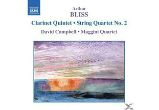 David Campbell, Maggini Quartet, David/maggini Quartet Campbell - Klarinettenquintett/Streichquartett - (CD)