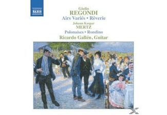 Ricardo Gallen - Airs Varies/Reverie - (CD)