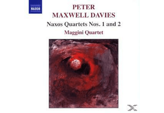 Peter Maxwell Davies, Maggini Quartet - Naxos Quartette 1+2 - (CD)