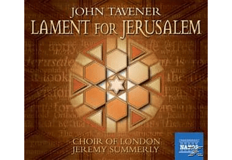 Choir Of London Orchestra, Summerly/Choir Of London - Lament For Jerusalem - (CD)