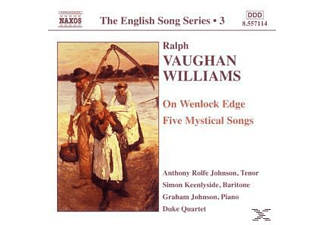VARIOUS, Rolfe Johnson/Keenlyside/+ - The English Song Series - (CD)