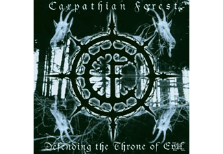 Carpathian Forest - Defending the Throne of Evil - (CD)