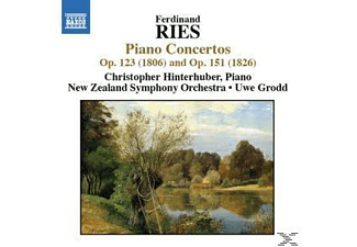 Hinterhuber Christopher, New Zealand Symphony Orchestrra, Grod, Hinterhuber/Grodd/NZ SO - Klavierkonzerte Vol.1 - (CD)