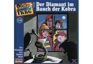 SONY MUSIC ENTERTAINMENT (GER) TKKG 115: Der Diamant im Bauch der Kobra