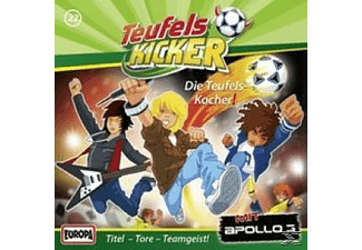 SONY MUSIC ENTERTAINMENT (GER) Teufelskicker 22: Die Teufels-Kocher