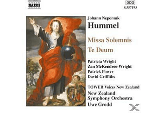 VARIOUS, Grodd/Tower Voices/New Zealand - Missa Solemnis/Te Deum - (CD)