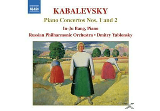 In-ju Bang & Russian Philharmonie Orchestra, In-ju/yablonsky/rpo Bag - Klavierkonzerte 1+2 - (CD)