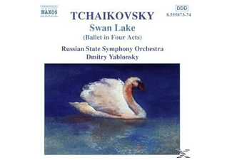 RUSSIAN STATE SYMPH. ORCH., Dmitry/russian State Symphony Orchestra Yablonsky - Schwanensee - (CD)